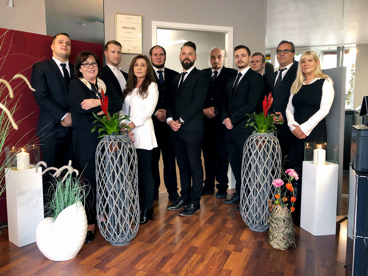 Team Bestattungsinstitut Pietät am Dornbusch