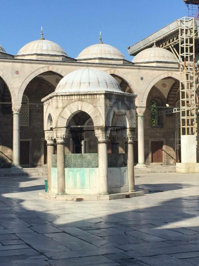 Innenhof einer Moschee